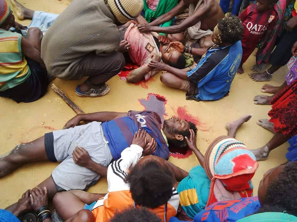 West Papuan youths  killed in the Paniai massacre
