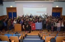 Benny Wenda raising Free West Papua support from Brighton, UK