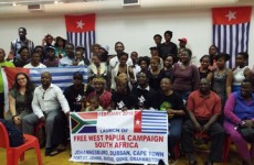 Benny Wenda Launching of the Free West Papua Campaign Cape Town, South Africa