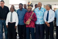 Letter of condolence after the death of former Vanuatu Prime Minister, Edward Natapei