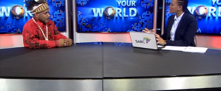 Benny Wenda – SABC news South-Africa