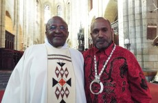 Archbishop Emeritus Desmond Tutu meets with Benny, renews call for UN review of West Papuan self-determination
