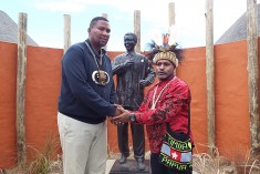 Benny Wenda tours South Africa