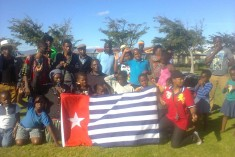 The free West Papua movement is growing every day across Africa