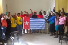 Free West Papua Campaign South Africa and ANC Women's League Support Freedom for West Papua