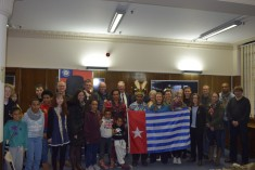 Free West Papua Campaign activities held in Newcastle