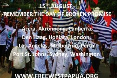Join the Global Demonstration on August 15th to Remember the Day of Broken Promise