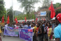 PHOTOS: West Papuans rally for MSG membership