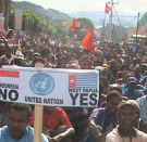 West Papuans DO NOT recognise Indonesian Independence Day as including West Papua