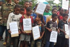 Video – Demonstrations all over West Papua and in several Indonesian cities
