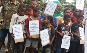 Video - Demonstrations all over West Papua and in several Indonesian cities