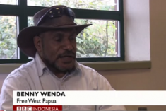 BBC Indonesia interview Benny Wenda