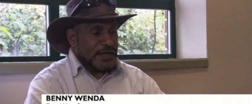 BBC Indonesia interview Benny Wenda