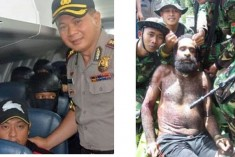 West Papuan leader notes 'sadistic' Indonesian photo op