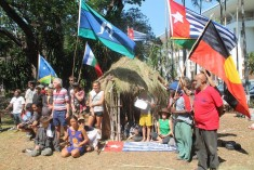 West Papua activists evicted from Northern Territory parliament grounds