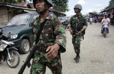 Indonesian soldier accused of killing a pregnant West Papuan mother and 2 children