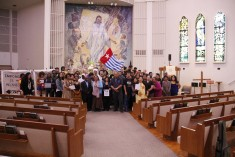 Pacific Islands community in Los Angeles support a Free West Papua