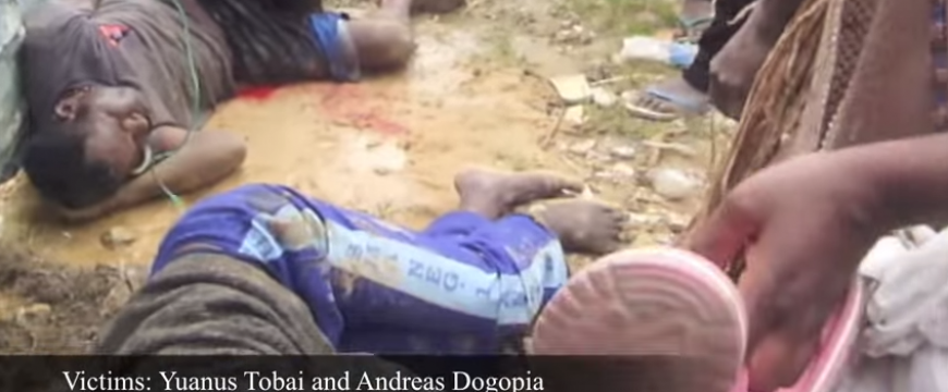 New video footage of West Papua massacre casts spotlight on military abuses