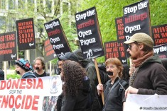 Survival International: Protestors demand end to isolation of West Papua