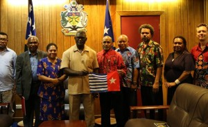 I'M COMMITTED TO WEST PAPUA's PLIGHT: PM SOGAVARE