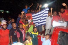 18 June – Long march for West Papua in  Gerehu, Port Moresby