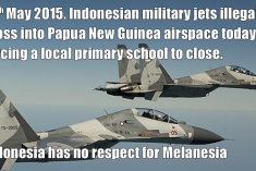 3rd illegal Indonesian military incursion into PNG