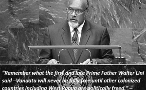 Rest in peace Edward Natapei, former Prime Minister of Vanuatu and hero for a Free West Papua