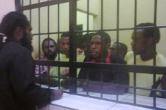 "6 activists arrested today in Sentani for ""distributing leaflets"". 70 arrested and beaten in Manokwari"