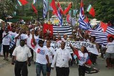 Hundreds join Solomon Islands West Papua rally