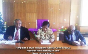 Statement of Church Leaders in West Papua regarding last weeks incident in Tolikara